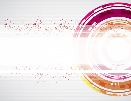 new media: Abstract color background  Vector
