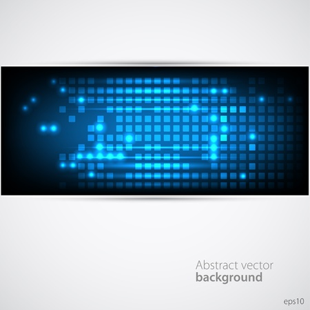 communication metaphor: Abstract Background  Vector