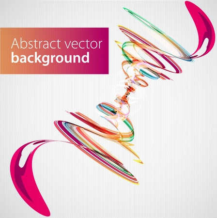 creative arts: Abstract color background  Vector
