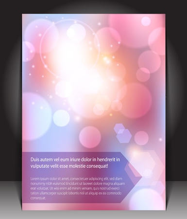 Abstract pink blank Stock Vector - 13721697