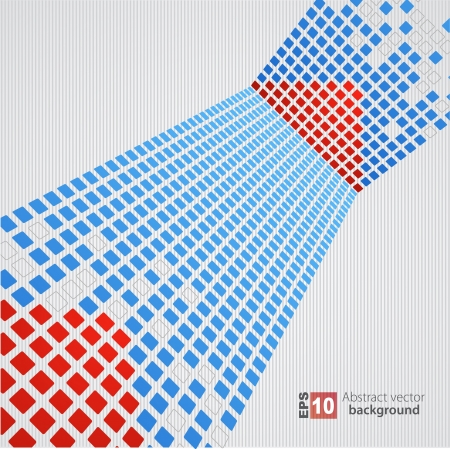 Pixel art background Vector