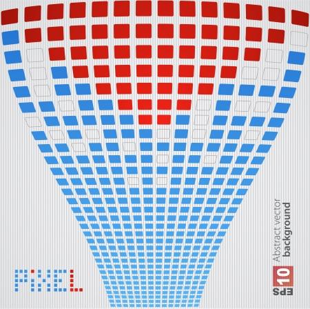 Pixel art background Stock Vector - 14134107