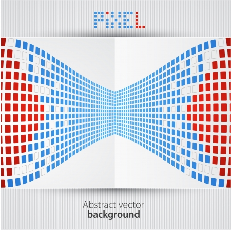 Pixel art background Ilustração