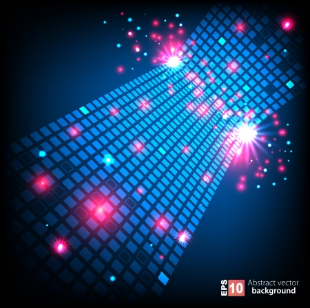 Abstract space background  Stock Vector - 14134260