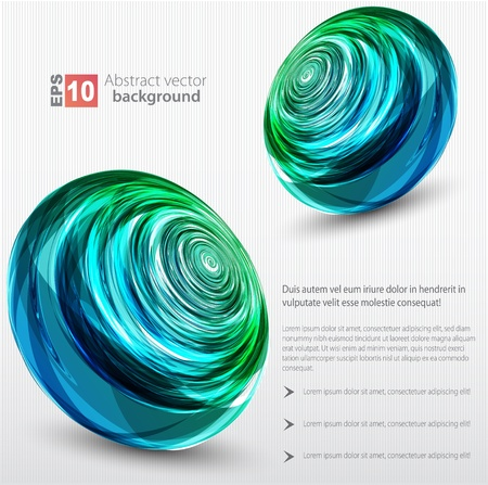 covet: Abstract background  color sphere  Illustration