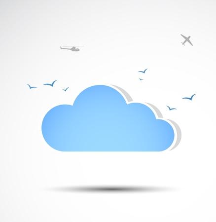 Cloud icon  Vector Vector