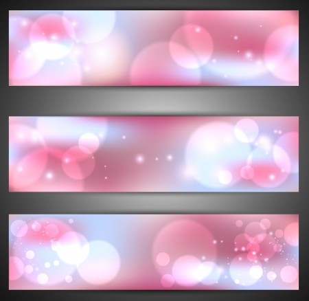 Set of web banners Stock Vector - 14794567