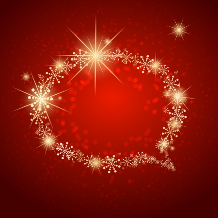 Christmas bubble made with snow Stock Vector - 14794602