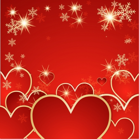 St  Valentine background   Vector