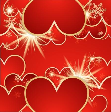 St  Valentine background   Vector