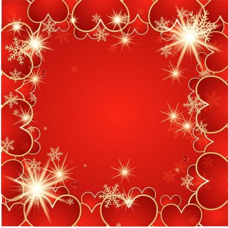 St  Valentine background Stock Vector - 14794573