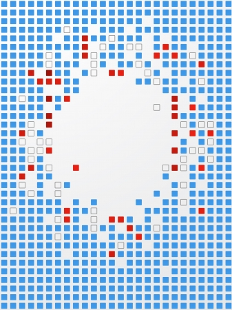pix: Abstract background. Pixel art.  Illustration
