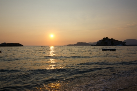 billow: Sunset over the sea
