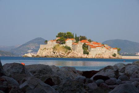 St  Stefan island