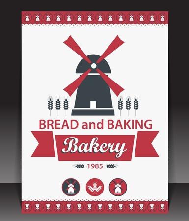 Blank for bakery  Vector Stock Vector - 15389449