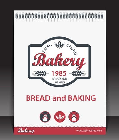 Blank for bakery  Vector Stock Vector - 15389453