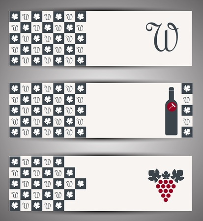Web wine banner  Vector Stock Vector - 15389428