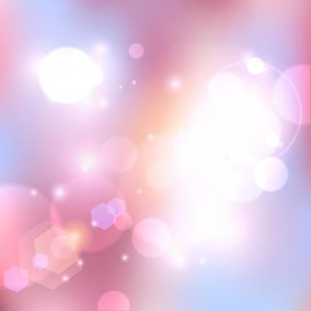 flares: Vector pink abstract background.