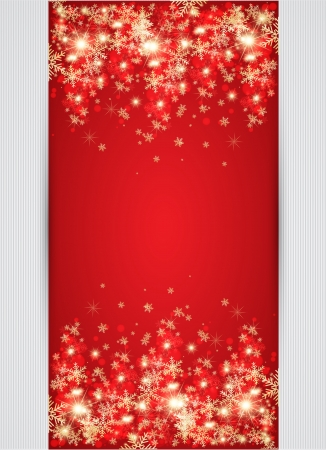 christmas backgrounds: Abstract christmas background. Vector Illustration