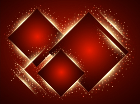 Abstract red background. Vector Vector