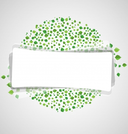 Abstract leaves background.vector Stock Vector - 16219710