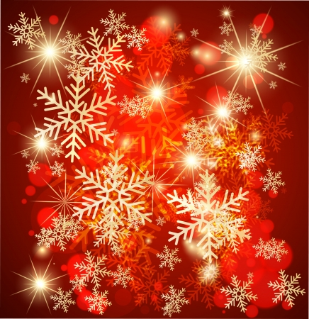 Abstract christmas background. Vector Vector
