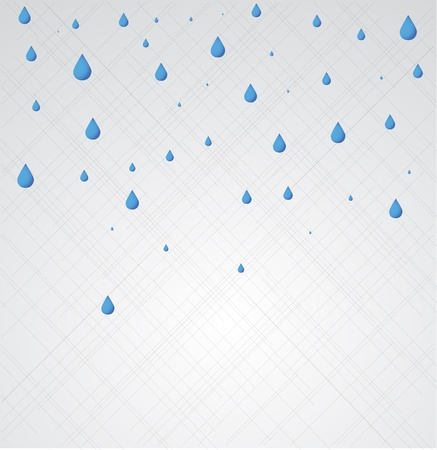 drench: Rain. Vector Vectores