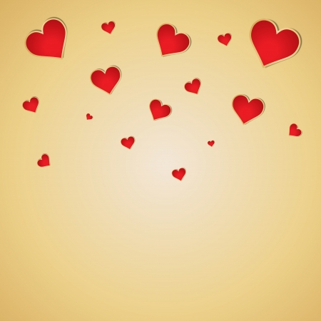 Valentines day vector background. Vector