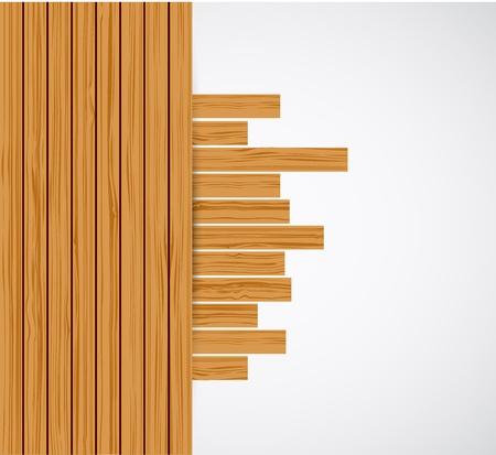 Wooden background.  Stock Vector - 16824665
