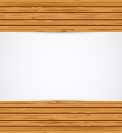 Wooden background. Stock Vector - 16824628