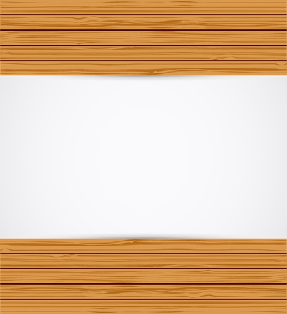 Wooden background.  Stock Vector - 16824628