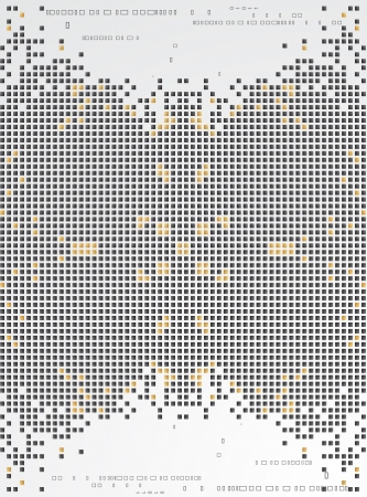 Abstract pixel background  Stock Vector - 17255806