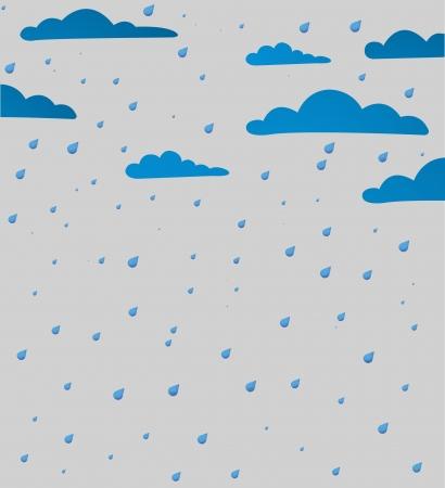 hurricane weather: Bad weather background.  Illustration