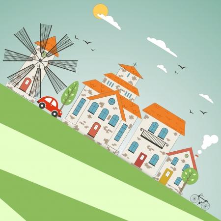 城市主题背景