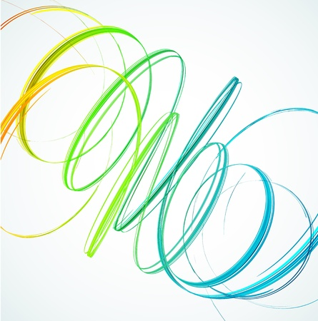 swirl: Abstract background  Vector