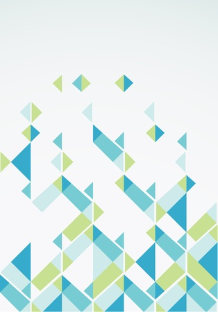 pastel color: Abstract retro-style background  Vector