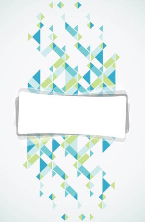 bstract: Abstract retro-style background  Vector