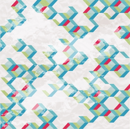 Abstract retro-style background  Vector Stock Vector - 18428896