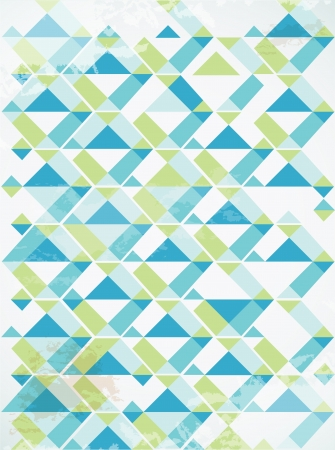 Abstract retro-style set of cards  Vector Vector