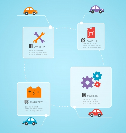 vehicle accessory: Car infographic