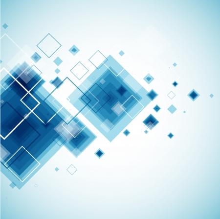 Sfondo blu di tecnologia Vettoriali