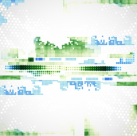 Abstract technology background. Vector Stock Vector - 20833198