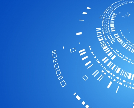 software engineering: Abstract technological background of blue color for your business