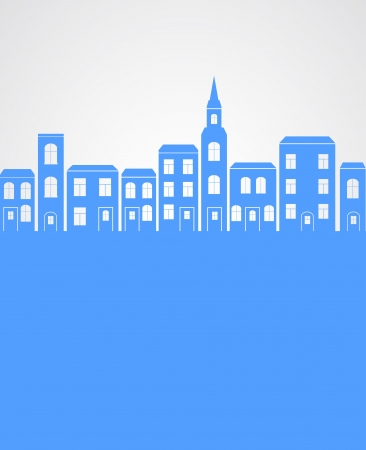 City silhouette background. Stock Vector - 21317355