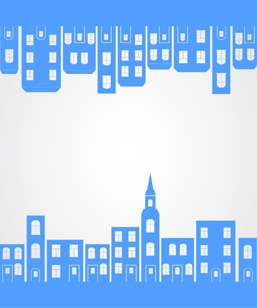 City silhouette background. Stock Vector - 21317356