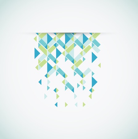 Abstract retro-style background. Stock Vector - 23659792