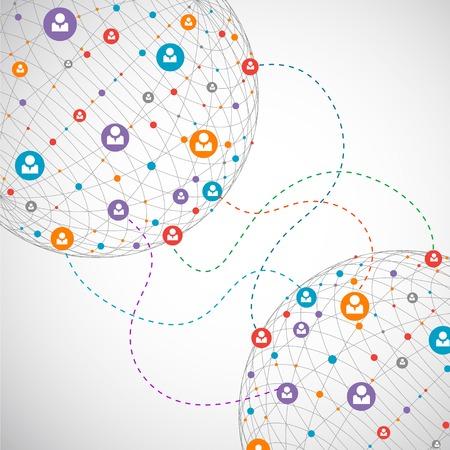 conectar: Concepto de red  Medios de comunicaci�n social