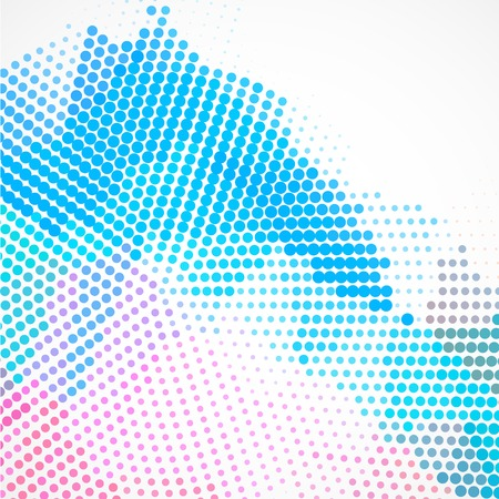 Abstract colorful creative circles background design Ilustracja
