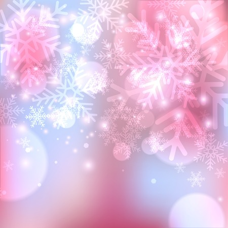 winter holiday: Winter holiday background Illustration