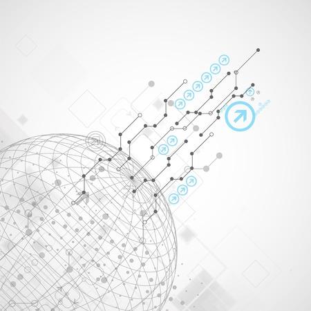 mapas conceptuales: Resumen de tecnología de fondo mundo